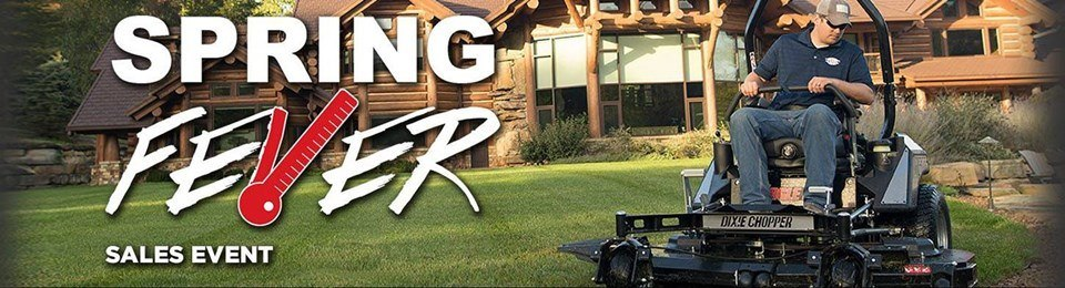 Dixie Chopper - Spring Fever Sales Event