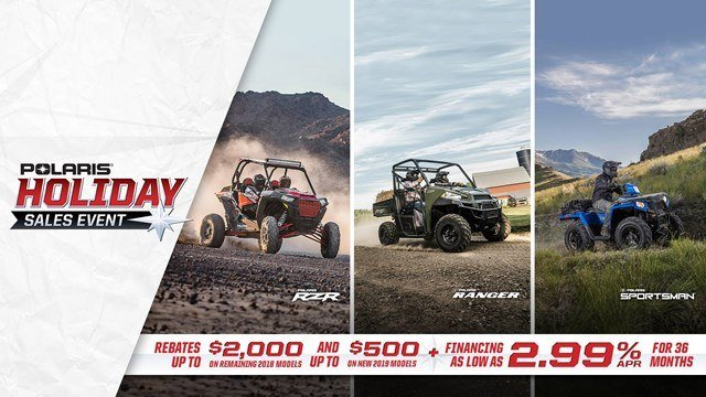 Polaris - Holiday Sales Event - ORV Models